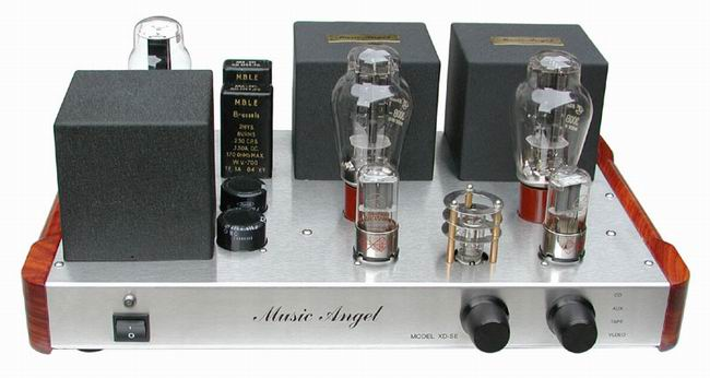 电压放大美国dcc90直热三极管